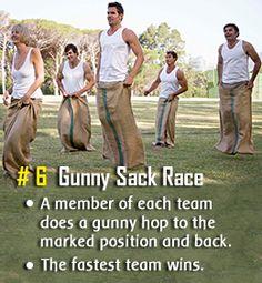 Funny relay race idea
