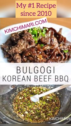 How to make Korean Beef Bulgogi BBQ. Authentic marinade with Asian pear as tenderizer. My top no. How to make Korean Beef Bulgogi BBQ. Authentic marinade with Asian pear as tenderizer. My top no. Korean Beef Recipes, Meat Recipes, Cooking Recipes, Healthy Recipes, Healthy Food, Beef Skirt Recipes, Korean Beef Marinade, Sliced Beef Recipes, Beef Chuck Recipes