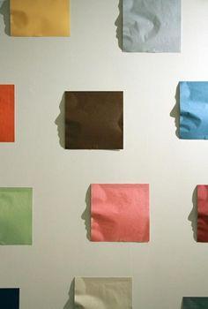 Caras con sombras de papel