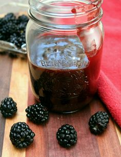 Chipotle Blackberry BBQ Sauce