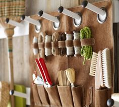 The Organized Life: Garden Shed Storage System from Pottery Barn (Gardenista)