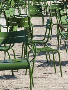 Chaises des Tuileries