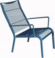 Loungestoel Breeze Tuin - Blauw - DYYK - Woonwebwinkel LiL.nl #chair #stoelen