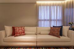 cortineiro iluminado