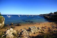 spiaggia di Cascais Portogallo