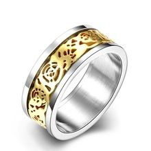 2017 NewPlant/Flower Design Ring,Romantic Style Gold Color Fashion Jewelry For Men Dress Accessories Ring Fashion Jewelry //FREE Shipping Worldwide //