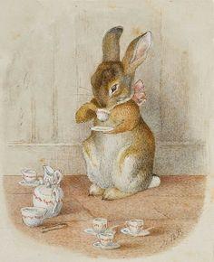 Waar nostalgie en romantiek elkaar ontmoeten...: Beatrix Potter heeft me geinpireerd...