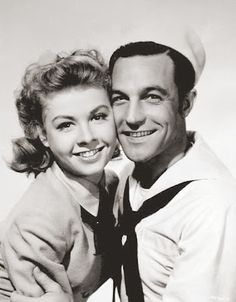 """Vera-Ellen and Gene Kelly in """"On The Town"""""""