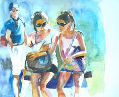 Curiosity Bubble 20 x 30 cm on paper Curiosity, Watercolour, Bubbles, Paper, Painting, Art, Pen And Wash, Art Background, Watercolor Painting