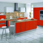 Awesome Modern Red Beige Kitchen sets