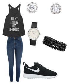 """""""Untitled #49"""" by queen-of-spadesxoxo on Polyvore featuring River Island, NIKE and Bling Jewelry"""