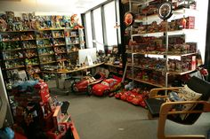 John Lasseter's office looks like this  9 Things You Didn't Know About Pixar