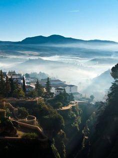 Amazing landscape of Ronda