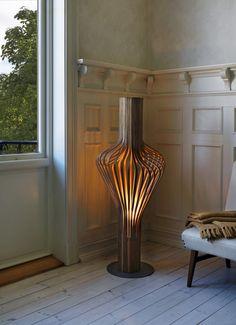 Standing lamp Diva by Peter Natedal & Thomas Kalvatn Egset (2009) for Northern Lighting