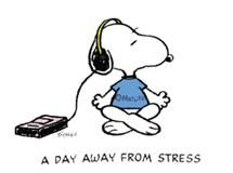 Snoopy Must be listening to Tom Petty and The Heartbreakers