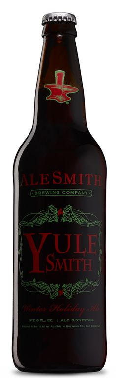 AleSmith Winter YuleSmith