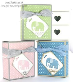 Adorable Box for Baby Bibs and Gifts Oh isn't this just the cutest thing? Adorable, well, it's the perfect word in my humble opinion! And I have to thank m