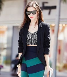 The Real Girl's Guide To Wearing A Crop Top via @WhoWhatWear