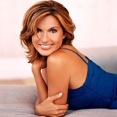 """Mariska Hargitay - I met her in the early days of """"Law and order SVU"""" when I worked on it for the first few seasons. She is as nice as you'd think she is. A smile that lights up the room"""