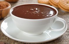 Chocolate quente cremoso FIT