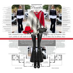 1094.Style' s Tip: How to wear a Cape? by marymary91 on Polyvore featuring Vero Moda, Haute Hippie, Yves Saint Laurent, Givenchy, Mykita, Paul Frank and dunedincashemere