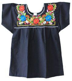 Mexican Peasant Puebla Blouse, Black, Small Chamaco,http://www.amazon.com/dp/B009E8N2Y0/ref=cm_sw_r_pi_dp_LeX2sb1AA5DGX3PC