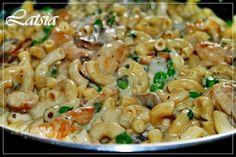 LATSIAKONYHÁJA: 4 SAJTOS TÉSZTA GAZDAGON Pasta Salad, Ethnic Recipes, Food, Crab Pasta Salad, Essen, Meals, Yemek, Eten