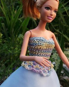 Платье для Барби...  Dress for prom. Kleid für Abschlussball.