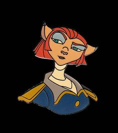 captain amelia treasure planet pin | Flickr - Photo Sharing!