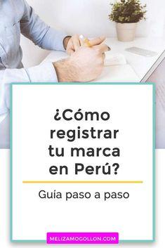Cómo registrar una marca en Perú | Paso a paso y requisitos ⭕ #negociosdigitales #emprender #emprenderonline #marketingdigital #agenciademarketing Como Registrar Una Marca, Marketing Digital, Online Marketing, Marca Personal, Ideas, Home, Design Agency, Marketing Strategies, Blogging For Beginners