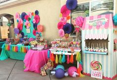 Candy Shoppe Birthday