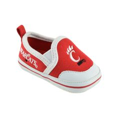 Baby Cincinnati Bearcats Crib Shoes, Infant Unisex, Size: 6-9 Months, Red
