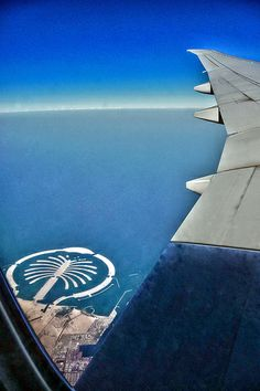 Plane views from my window seat - Dubaï - UAE from the air