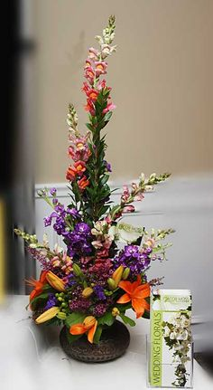 Jacob Moss Designs Custom Floral Arrangements
