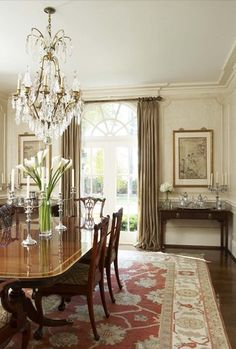 71 Best Traditional Dining Rooms Images