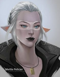 Commission art ___________________ note or email me for commission~ Meitte Pelicier Dungeons And Dragons Characters, Dnd Characters, Fantasy Characters, Female Characters, Fantasy Races, High Fantasy, Fantasy Art, Fantasy Character Design, Character Art