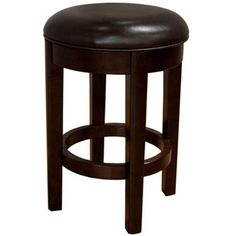 Parson Chairs 24 Inch Bar Stool with Swivel Seat by AAmerica | Wolf Furniture