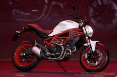 Ducati Monster 797 air cooled 2 valve debuts at EICMA 2016 Auto News, Ducati Monster, Latest Cars, Electric Cars, Cars And Motorcycles, Automobile, Bike, Dreams, Cool Stuff