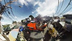 An awesome Virtual Reality pic! We rode on top of a fire truck while the Filipino government escorted us during filming in the slums of Manila.  #360Dreams #ChasingTheWorld #manila #360video #virtualreality #vr #philippines #firetruck #documentary #adventure #traveladdict #travel #igtravel #crazy #panorama #seasia #micronesia #travelandleisure #natgeotravel #natgeo by chasing.the.world check us out: http://bit.ly/1KyLetq