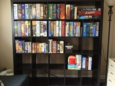 Game Storage? | The Dice Tower | BoardGameGeek Board Game Organization, Board Game Storage, Board Games, Organization Ideas, Video Game Storage, Handyman Projects, Dice Tower, Game Room Basement, Modern Games