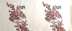 Úplet Květy na smetanové, š. 170cm, d. 84cm – Český patchwork Red, Scrappy Quilts