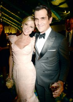 On screen couple Julie Bowen and Ty Burrell