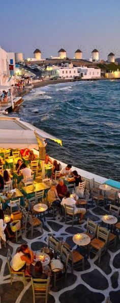 Places to Visit Before You Die: this patio in Greece...