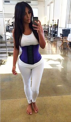b50527c5fe I Wore A Workout Corset Like Kim Kardashian…For Five Minutes - Check out  http