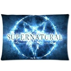 Bedroom Decor Custom Supernatural Symbol Pillowcase Rectangle Zippered Two Sides Design Printed 16x24 pillows Throw Pillow
