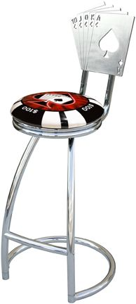 Poker Bar Stool