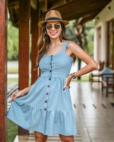 Curve & Plus Size Casual Dresses Casual Dresses For Teens, Casual Dress Outfits, Cute Dresses, Short Dresses, Fashion Outfits, Summer Dresses, Summer Outfits, Everyday Dresses, Mode Style
