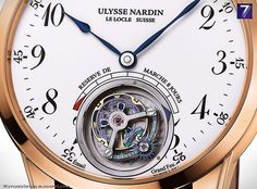 Ulysse Nardin – Ulysse Anchor Tourbillon Rose Gold