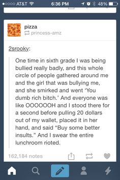 dude....thats the kind of stuff i would only come up with after the fact. that person is my hero