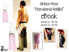 """eBook Hose """"Feierabend-Held(in)"""" von Hilli Hiltrud auf DaWanda.com"""